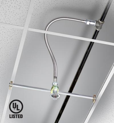 Tubo flessibile per sprinkler certitificato UL/FM