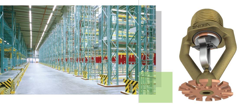 Nuovo sprinkler ESFR K28 approvato UL | IDROTEC BAGIARDI S R L